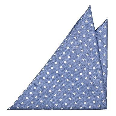 Cravate Garçons Petit - Linge Turquoise Chambray Avec Petite Encoche De Points Blancs OrLNSnvku