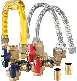 metpure gas tankless water heater complete kit tklsck