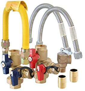 Metpure Tankless Water Heater Installation Complete Kit TKLS-CK