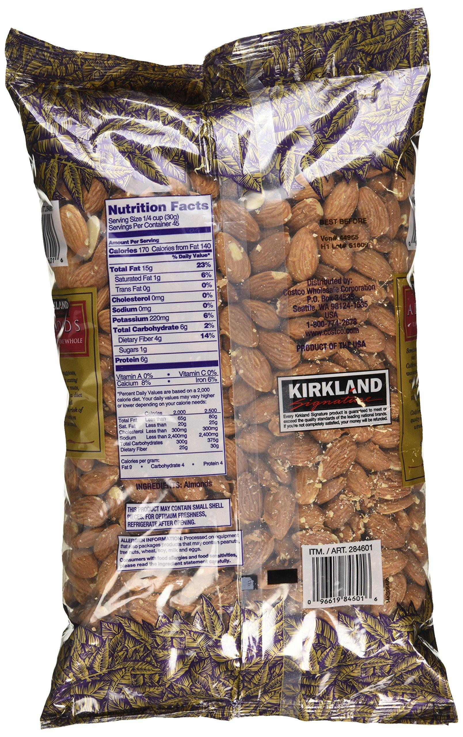 Kirkland Signature Supreme Whole Almonds, 3 Pound by Kirkland Signature (Image #4)