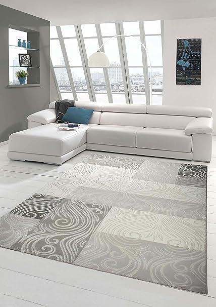 Tappeto Designer Tappeto moderno tappeto da salotto con Glitzergarn ...