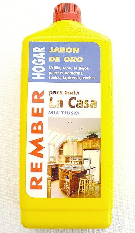 rember hogar concentrado biodegradable Jabón Limpiador/quitamanchas/oro Jabón 1 L