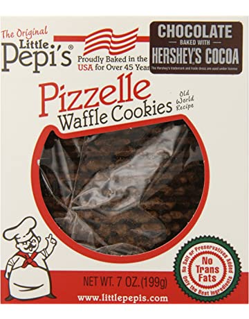 Little Pepis Pizzelles, Chocolate, 7 Ounce
