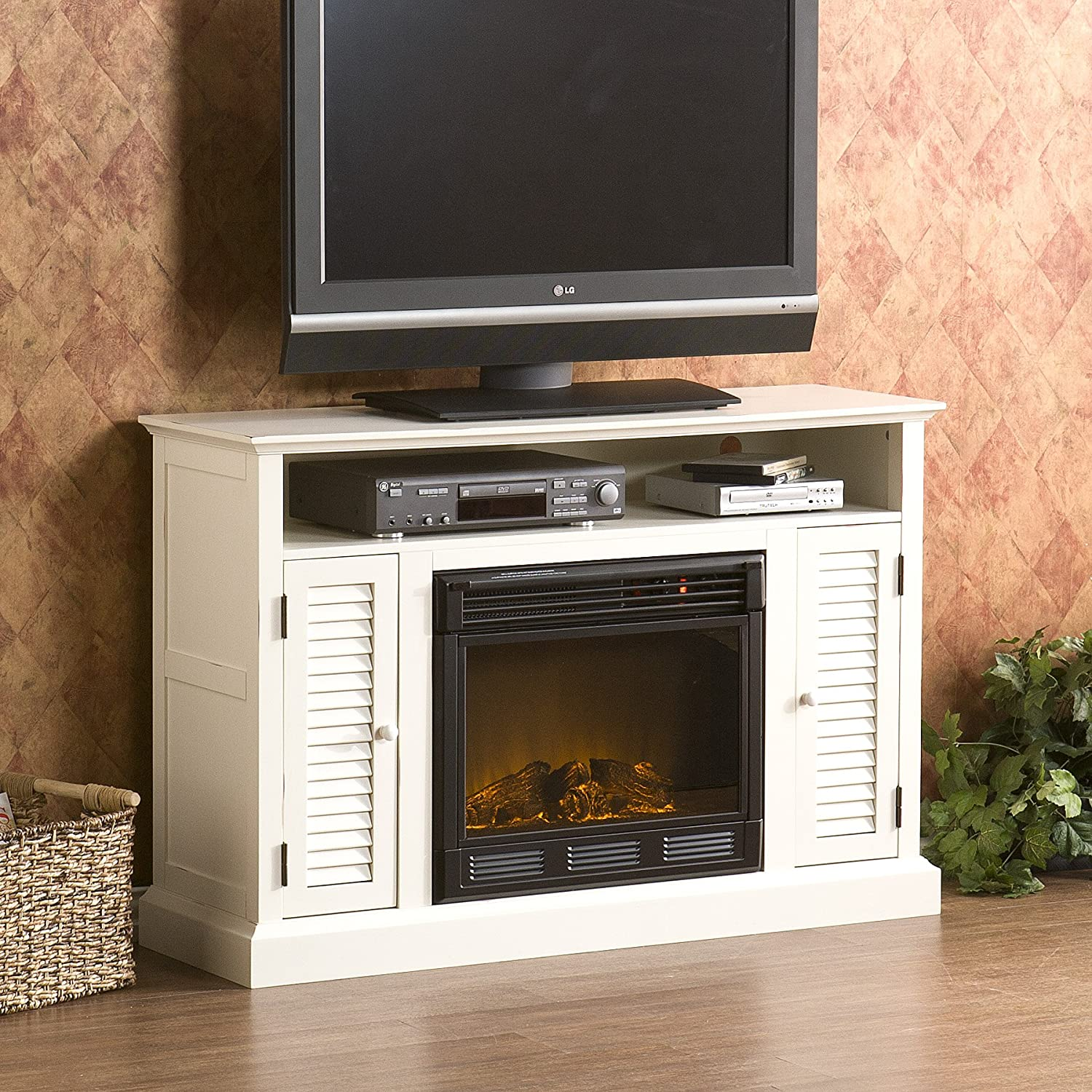 tv console with electric fireplace dact us