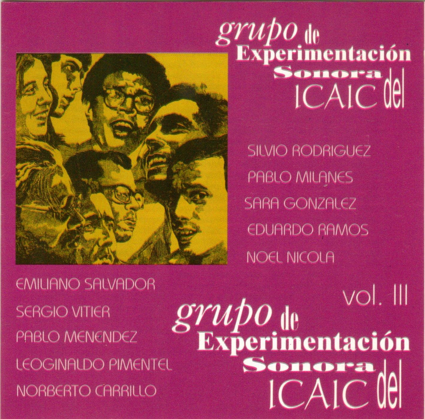 Amazon.com: GRUPO DE EXPERIMENTACION SONORA VOL. 3: Music