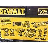 Combo Kit DeWalt 8-Tool DCK881D2