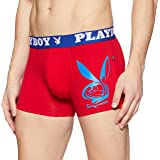Playboy Men's Solid Cotton Boxers