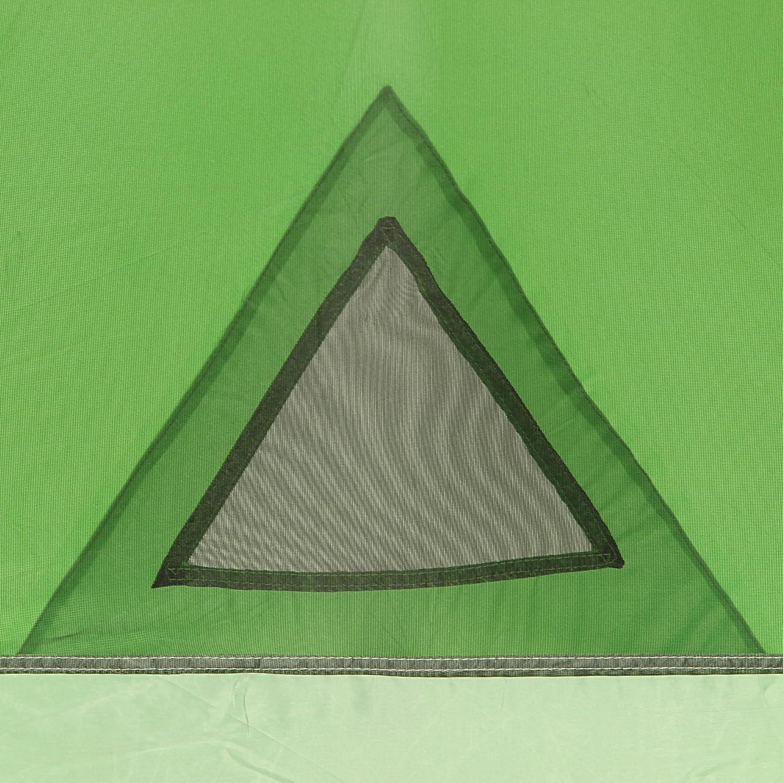 Fridani DSG 4 Mann Camping Zelt Kuppelzelt 3000 mm wasserdicht Vorraum Bel/üftung Moskitonetz