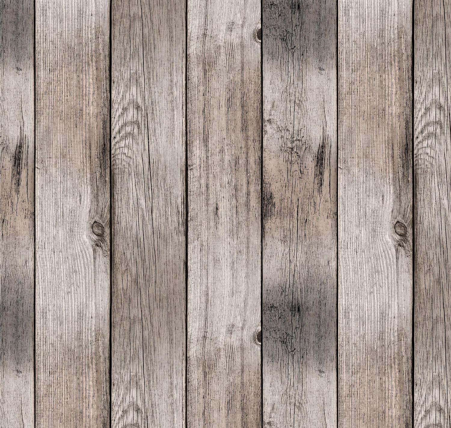 Round Tablecloth 55-inch wide | Antique Rustic Wood Grain Vinyl Indoor & Outdoor Table Cover