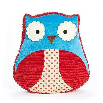 Amazon.com: Skip Hop Zoo Throw almohada, Otis Búho: Baby