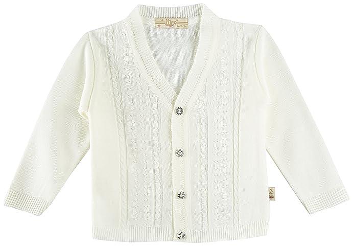 Amazon.com: Lilax Baby Boy Cable-Knit Basic Knit Cardigan Sweater ...