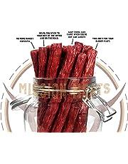 Keto Sugar Free Grass-Fed Beef Snacks Sticks Non-GMO Gluten Free MSG Free Nitrate Nitrite Free Paleo Healthy Natural Meat Sticks Beef Jerky (Tasty Original Grass Fed Beef, 12 Count)