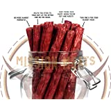 Keto Sugar Free Grass-Fed Beef Snacks Sticks Non-GMO Gluten Free MSG Free Nitrate Nitrite Free Paleo Healthy Natural Meat Sticks