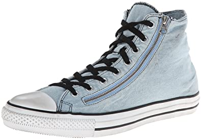 a97b8455605a Converse - Chuck Taylor All Star Double Zip Denim Hi Shoes