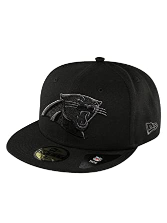 New Era 59Fifty Fitted Cap - Carolina Panthers black - 8  Amazon.co ... ac460b7ee