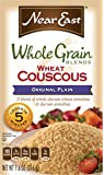 Near East Whole Grain Blend Wheat Couscous, Original (Pack of 12 Boxes)