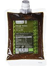 Biospirit Mugi Miso Pasteurizado de Cultivo Ecológico - 2 Paquetes de 345 gr - Total: 690 gr