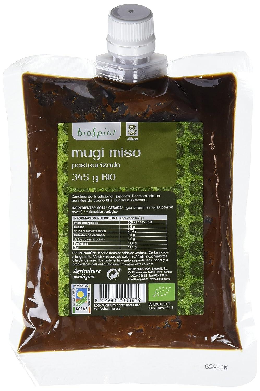 Biospirit Mugi Miso Pasteurizado de Cultivo Ecológico - 2 Paquetes de 345 gr - Total: 690 gr: Amazon.es: Alimentación y bebidas