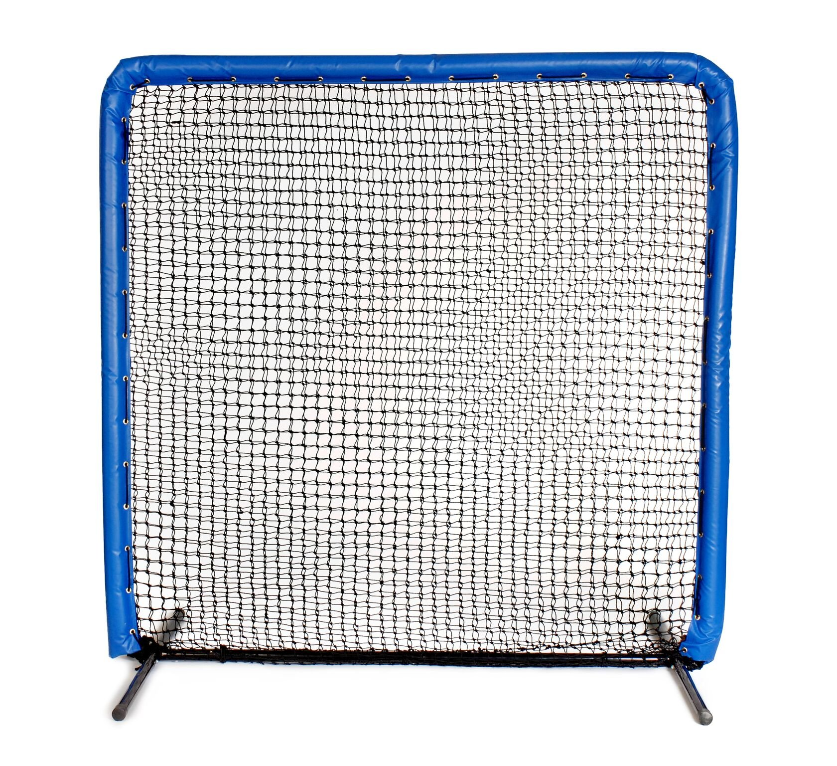 Armor Series 7X7 Protective Screen with Screen Bulletz. Baseball/Softball Padded Practice Screen Net with Vinyl Padding. Choose Color! (Royal) by Armor