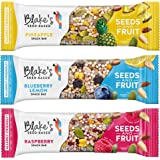 Blake's Seed Based Variety Pack Seed and Fruit Bars, Nut Free, Gluten Free, Vegan, 1.23oz (9 Bars)