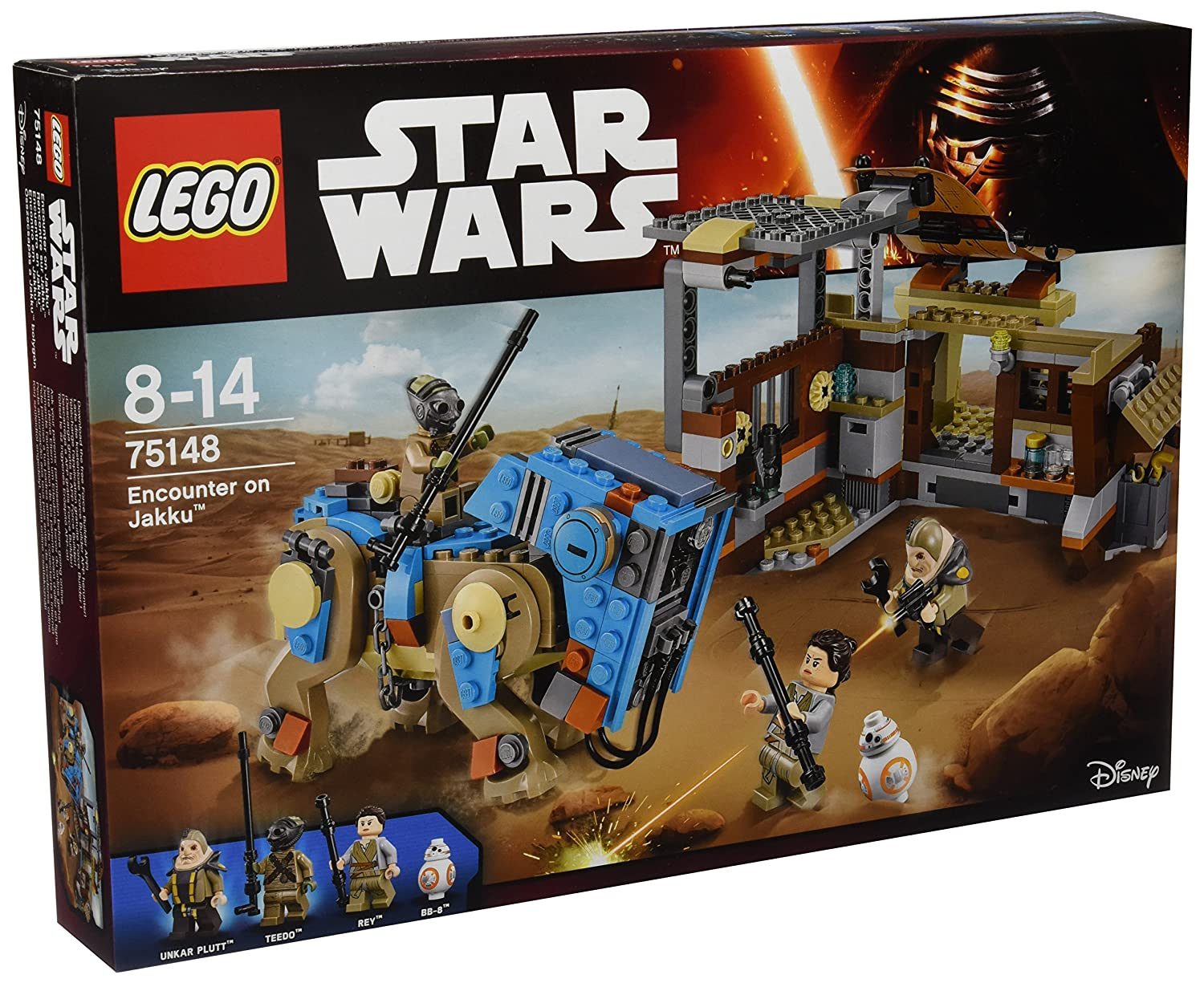 Set LEGO Star Wars - 75148 Encounter on Jakku in offerta sottocosto
