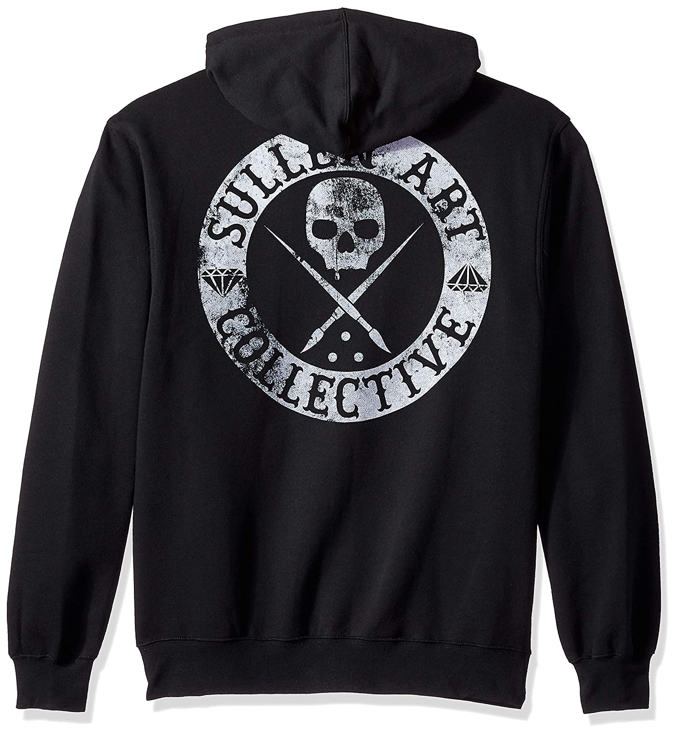 Sullen Art Collective Mens BOH Heavy Weight Zip Hoodie at Amazon Mens Clothing store: