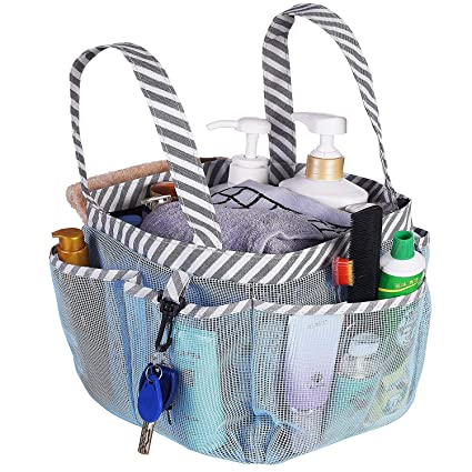 Amazon.com: Haundry Mesh Shower Caddy Tote, Portable College Dorm ...