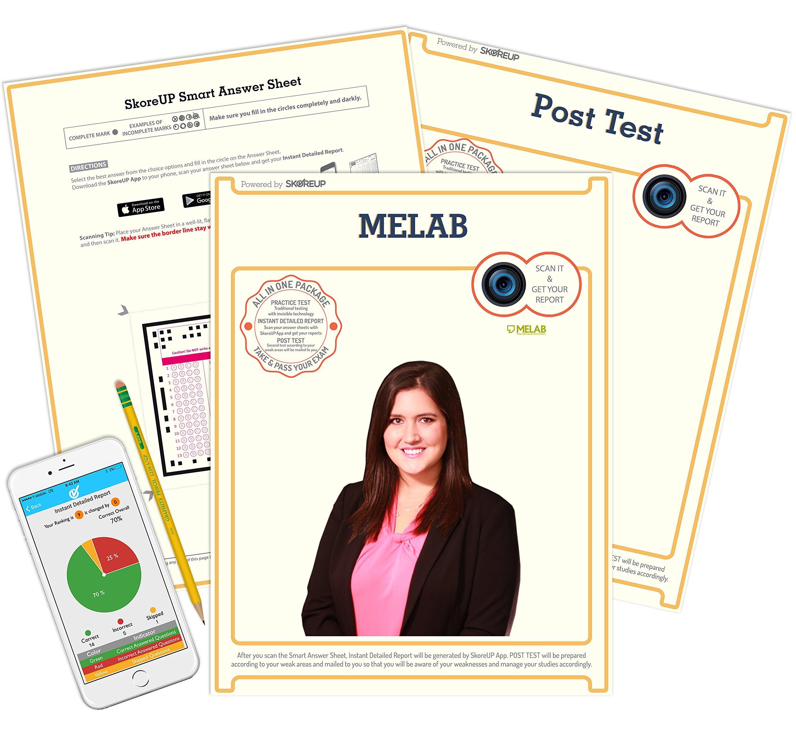 The Michigan English Language Assessment Battery Exam Melab Test Prep Study Guide Skoreup Llc 0769079170464 Amazon Com Books What is mercer mettl assessment battery? the michigan english language
