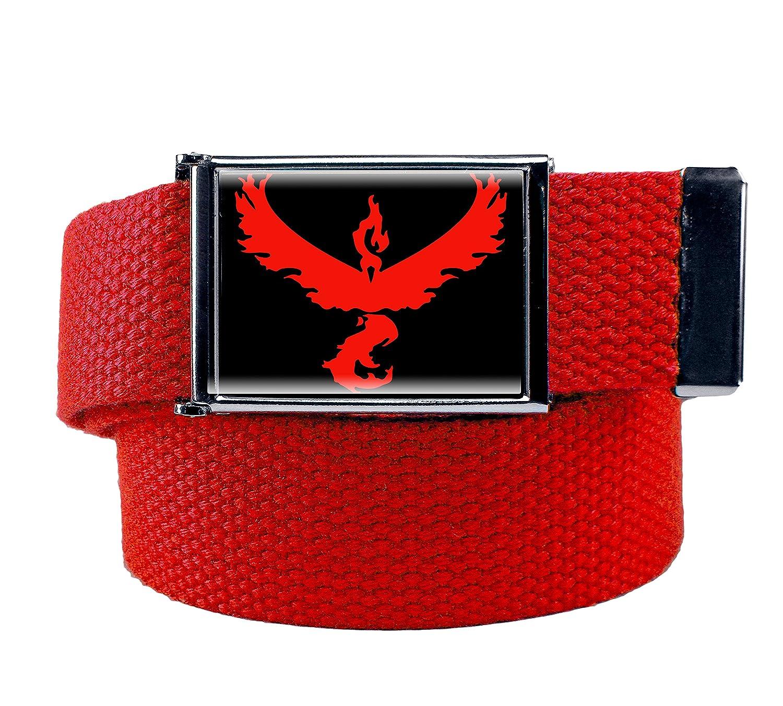 Boy's Team Valor Flip Top Military Belt Buckle with Canvas Web Belt 4400V-BOYS-$P