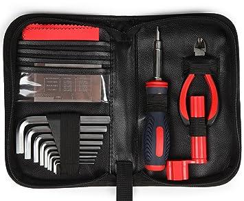 Kenley - Conjunto de herramientas profesionales para mantenimiento de guitarra Epiphone, Gibson, Fender,