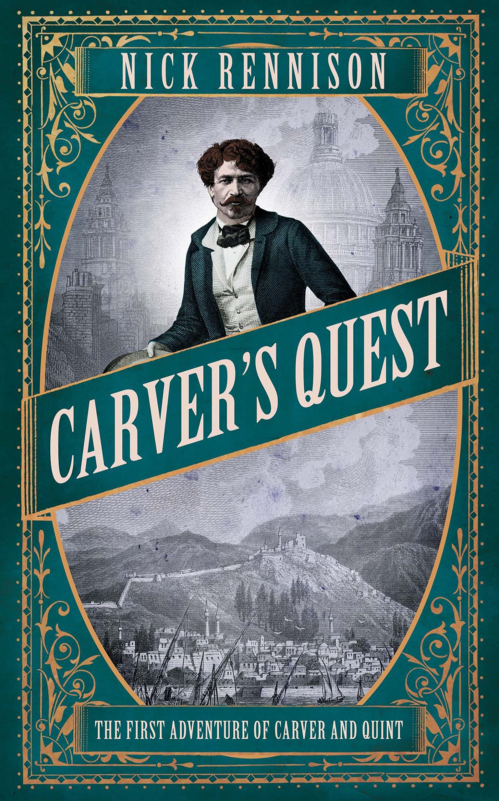 Carver's Quest (Carver & Quint): Nick Rennison: 9781782390350: Amazon.com:  Books