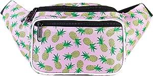 939ca4c1409c Amazon.com: WODODO Cactus Pattern Print Fashion Cute Fanny Pack ...