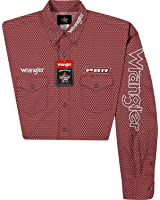 Wrangler Men's Logo Long Sleeve Shirt Big And Tall - Mhs199m-Tll