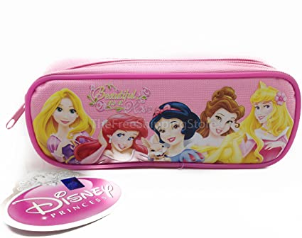 Princesas Disney – Estuche, color rosa: Amazon.es: Oficina y papelería