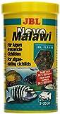 JBL Alleinfutter für algenfressende Buntbarsche, Flocken NovoMalawi
