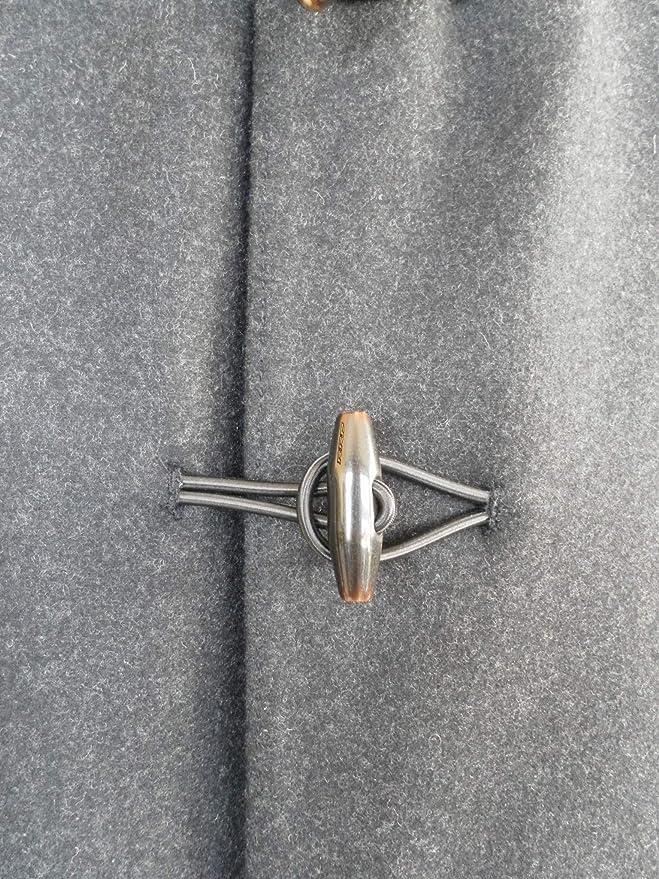 17bc2cc898137 Rrd Giubbotto Piumino Cappotto da Uomo Wool Montgomery in Lana Grigio 54   Amazon.it  Abbigliamento