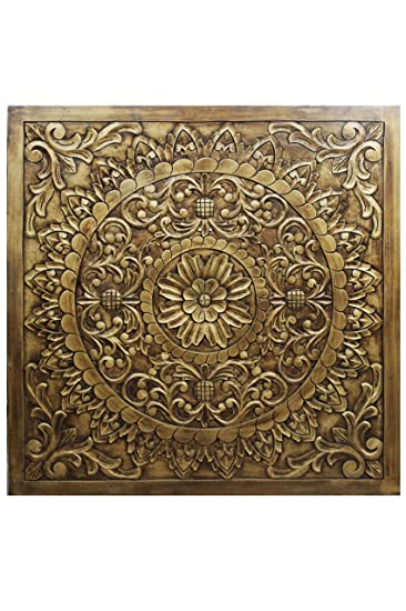 Orientalische Holz Ornament Wanddeko Badu 120cm Gross XXL | Orientalisches  Wandbild Wanpannel In Braun Als Wanddekoration