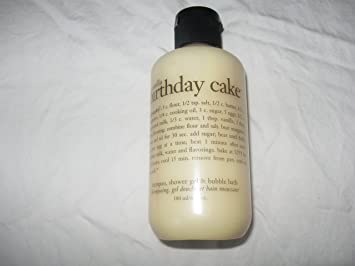 Image Unavailable Not Available For Color Philosophy Vanilla Birthday Cake Shampoo Shower Gel Bubble