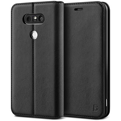 Amazon.com: LG G5 Case, BEZ Protective PU Leather Wallet ...