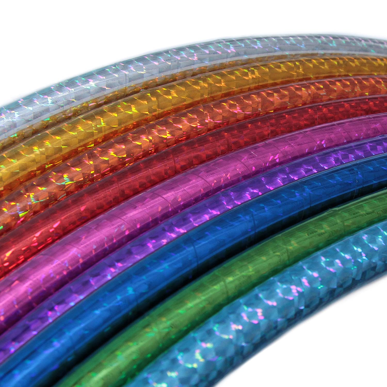 Hoopomania Hula Hoop in Holographic Colours, Children's, Hula Hoop, Hologramm Farben Children' s HOOP5|#Hoopomania
