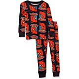 Amazon Essentials Boys' Disney Star Wars Marvel Snug-fit Cotton Pajamas Sleepwear Sets