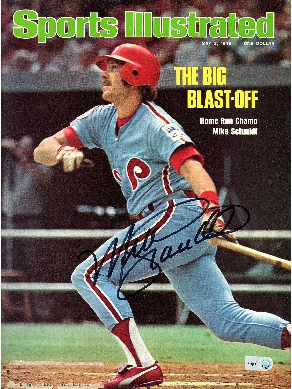 Mike Schmidt Philadelphia Phillies Autographed Big Blast Off Sports Illustrated - Fanatics Authentic Certified