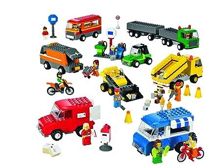 Lego Education Vehicles Set Trucks Motorcycles And Cars