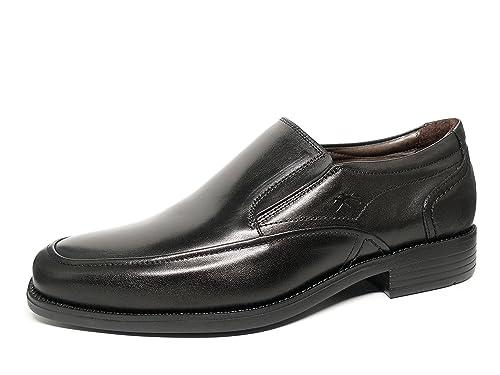 Zapatos vestir hombre FLUCHOS - Piel Negro - 7996 - 76: Amazon.es: Zapatos y complementos