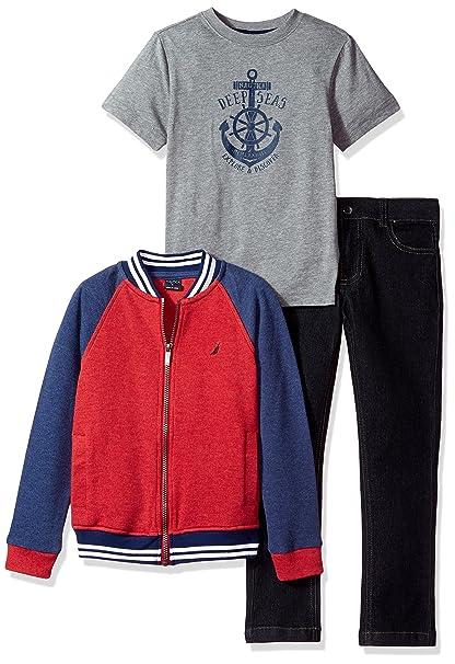 Amazon.com: Nautica - Conjunto de chaqueta de béisbol para ...