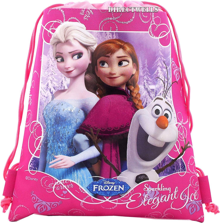 Frozen cartoon Girls Elsa anna Olaf Purse Wallet Coin Pouch key case bag headset