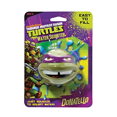 Little Kids Teenage Donatello Mutant Ninja Turtles Water Squirter: Toys & Games