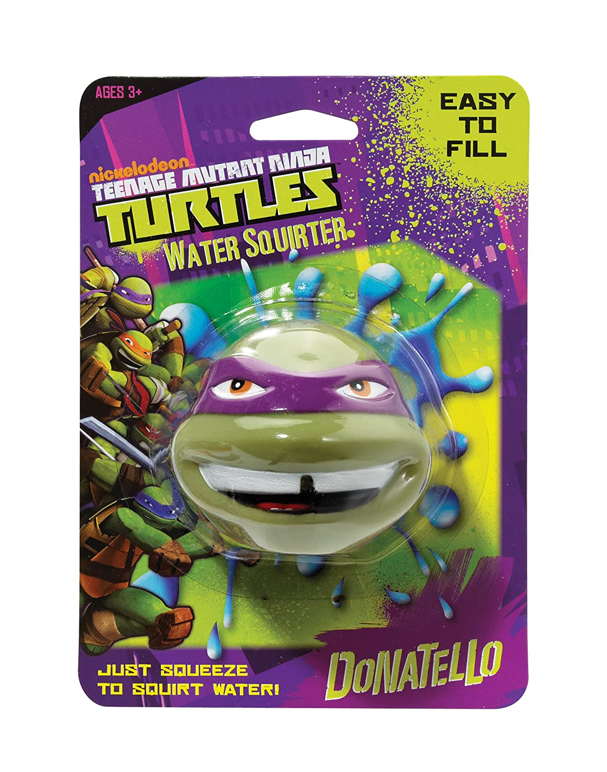 Little Kids Teenage Raphael Mutant Ninja Turtles Water Squirter