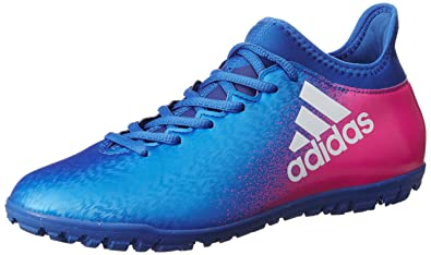 adidas X 16.3 TF Football Trainers - Blue/White/Shock Pink - Size 7 oqYoBdk