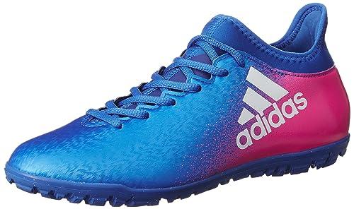 adidas X 16.4 TF, Scarpe per Allenamento Calcio Uomo, Blu (Azul/Ftwbla/Rosimp), 42/43 EU